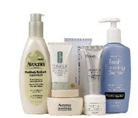 Image of various anti-aging products