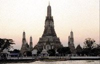 Image of Wat Arun temple in Thailand