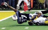 Image of a St. Louis Rams football game