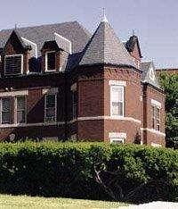 House in Fox Hill neighborhood, St.  Louis.