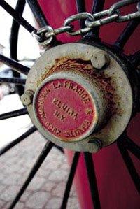 an antique wheel