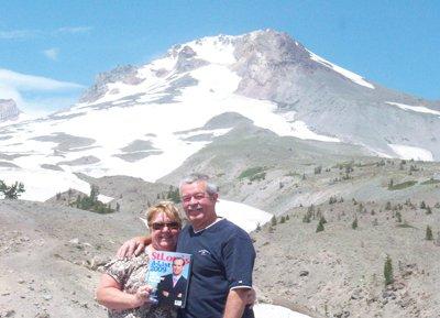 Patti and Bill Kappel at Mt. Hood in Oregon
