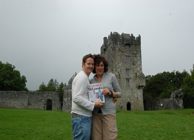 Brian Beahan and Sarah Ratermann in Ireland