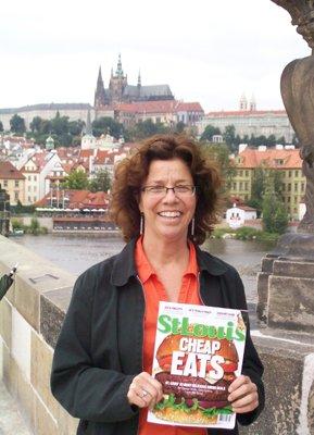 Christine Banda at The Charles Bridge in Prague