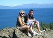 Jill and Brett Cowhey at Lake Tahoe, California