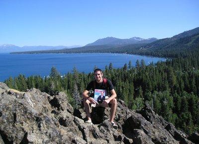 Brett Cowhey at Lake Tahoe, California