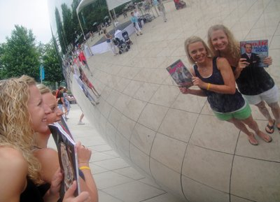 Emily Fuhs and Andrea Macy in Chicago, Illinois