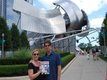 Mark and Karen Dysart at Millenium Park in Chicago, Illinois