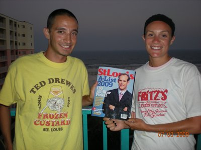 Matt and Kristen Van Horn in Gulf Shores, Alabama