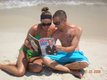 Kristen and Matt Van Horn in Gulf Shores, Alabama