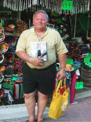 Mike Breihan at Playa Del Carmen, Mexico