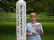 Sandra Delcoure in New Harmony, Indiana