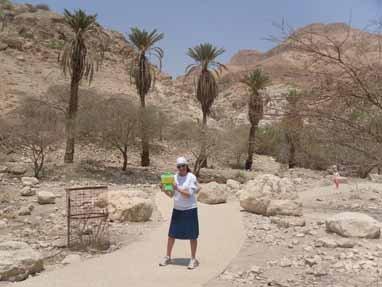 Rebecca Wilhelm, Ein Gedi, Israel
