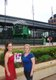 "Meagan Arnold and Carrie Hoelscher, ""John Deere Pavilion"", Moline, Illinois"