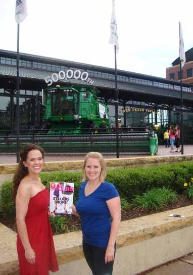 "Meagan Arnold and Carrie Hoelscher, ""John Deere Pavilion"", Moline, Illinois"
