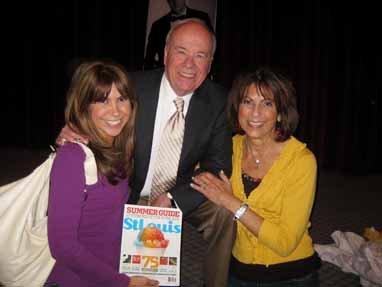 Jessica Radloff, Tim Conway, and Barb Radloff, Academy of Television Arts & Sciences in Los Angeles, California