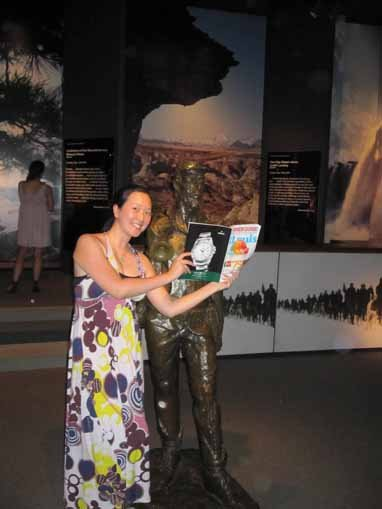 Anita Bah, Museum of Westward Expansion, St. Louis, Missouri