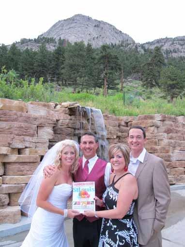 David and Amy Figliola and Amanda and Geoff Christie, Estes Park, Colorado