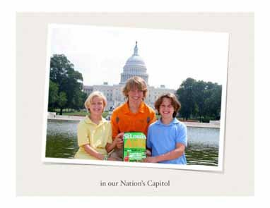 Matthew, Andrew, and Michael Countryman, White House, Washington D.C.