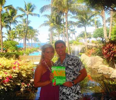 Mary Beth and Jason Denney, Honeymoon in Maui, Hawaii