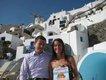 Ryan and Katie Furniss, Santorini, Greece