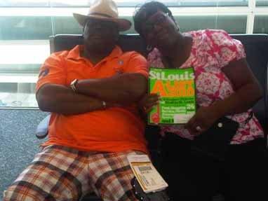 George and Pamela Moore, Jacksonville, Florida