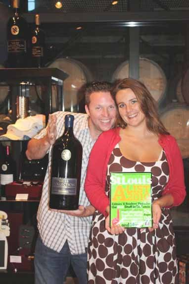 Cory Blackwell and Jessie Hennen, Hess Collection Winery in Napa, California