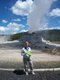 "Mary Kay Higgins, ""Old Faithful"", Yellowstone National Park, Wyoming"