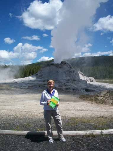 """Mary Kay Higgins, """"Old Faithful"""", Yellowstone National Park, Wyoming"""