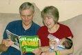 Leo and Karen Hodapp, with their new grandchild Brady, Goodyear, Arizona