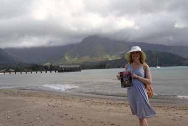 Sarah Holub, Hanalei Bay, Kauai, Hawaii
