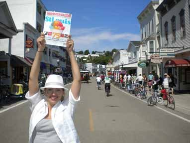 Kelly Kirk, Mackinac Island, Michigan