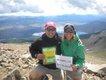 Trey and Susan Luina, Mt. Elbert, Colorado