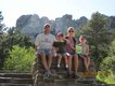 Edwin, Edwin H, Kimberly, and Rachel Lutz, Mount Rushmore