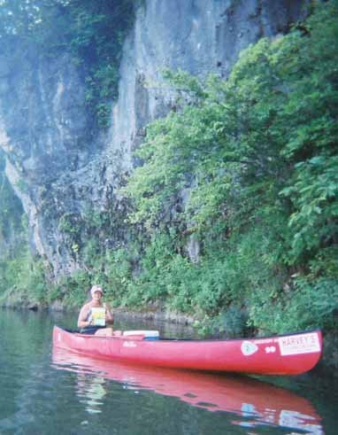 Sharon Meinkoth, Jacks Fork River, Ozark National Scenic Riverways