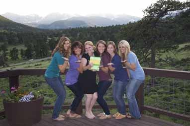 Jess G., Kristen G., Sara R., Erica B., Talia M., and Taylor M., Estes Park, Colorado