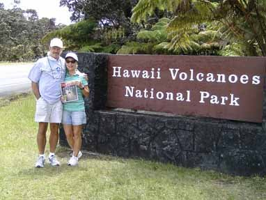 Louise and Lynn Oster, Hawaii Volcanoes National Park