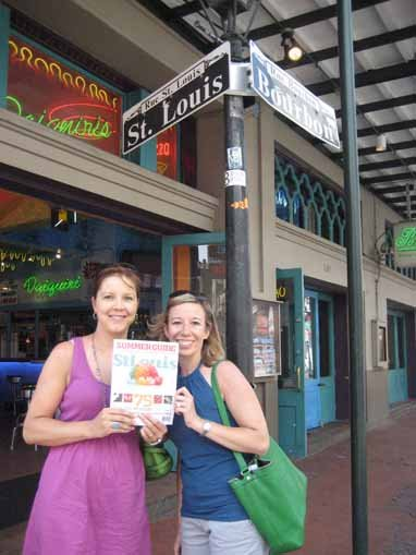 Katie Pendleton and Kristin Clark, New Orleans, Louisiana