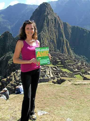 Amy Pousosa, Machu Picchu in Peru