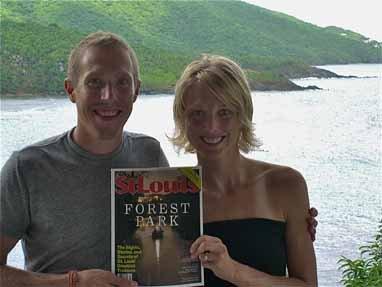 Ryan Bak and Natalie Provost, St. Thomas, U.S. Virgin Islands