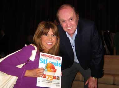 Jessica Radloff and Bob Newhart, Academy of Television Arts & Sciences, Los Angeles, California