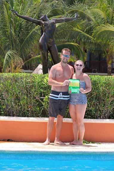 Joe and Anna Schiermann, Playa Del Carmen, Mexico
