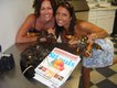 Kara Kaminsky and Jessica Stella,Picking out lobsters for the 4th of July Feast, Nantucket Island, Massachusetts