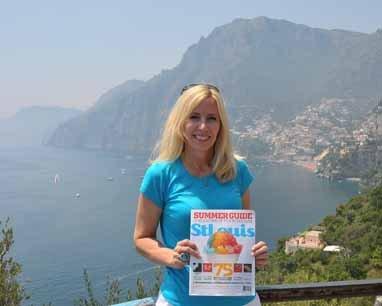 Jenifer Bedesky, Amalfi Coast