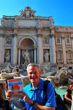 Mike Bedesky, Fountain of Trevi, Rome, Italy