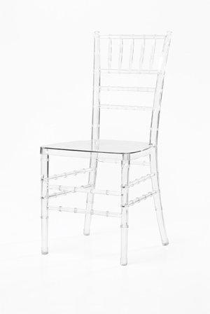 Chiavari chair for event rental, $7.95 per chair. The Aries Company, 4940 Northrup, 314-664-6610, ariesco.com