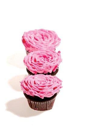 Mini-rose cupcakes, $2 each. SweetArt, 2203 S. 39th, 314-771-4278, sweetartstl.com