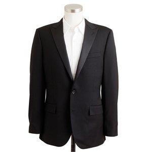 Ludlow tuxedo jacket, $495. J.Crew, multiple locations, 800-562-0258, jcrew.com