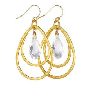 Jenny Present earrings, $72. Dotdotdash, 6334 N. Rosebury, 314-862-1962, dotdotdashboutique.com