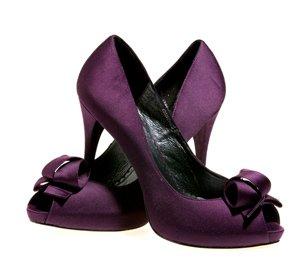 Love heels, $178. Simply Elegant Bridal, 1004 Olive, 314-241-8201, simplyelegantbridalstl.com